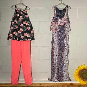 3/$25☘️ Size 8-12 Bundle Jumpsuit and Outfit